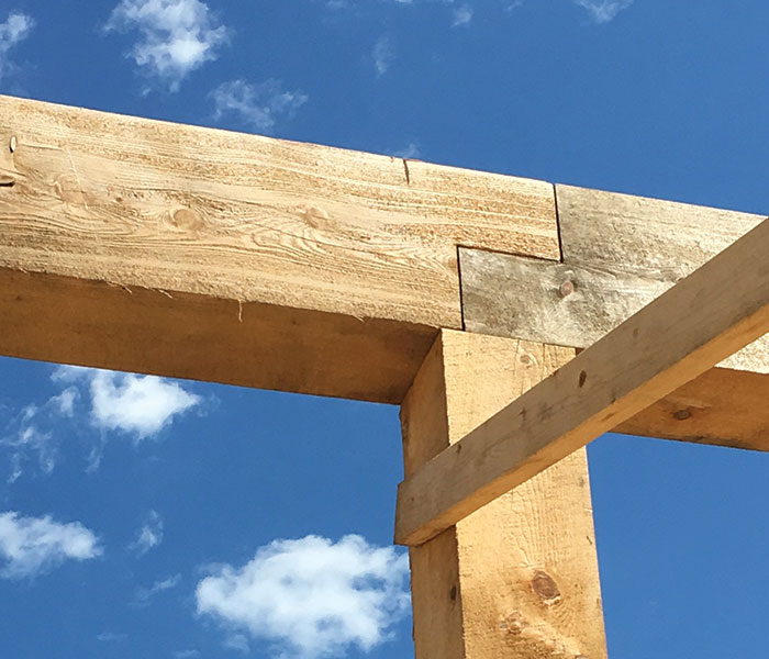 picture of wooden structure